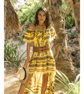 Vestido Santa Fe yellow(RESERVA)